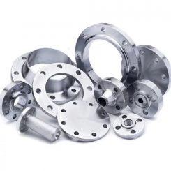 فلنج فولادی اتصال دهنده هایی هستند جهت اتصال لوله های فولادی به یکدیگر ، اتصال شیرآلات به لوله ها و یا مخرنها و اتصال ابزارهای مانند شیر یک طرفه فشار سنج دبی سنج اتصال پومپها و غیره مورد استفاده قرار می گیرد. فلنج ها بصورت قطعه دیسکی شکل می باشندکه به صورت جفت به کمک پیچ و مهره دو قطعه را به یکدیگر متصل می سازد و به آسانی باز و بسته می شوند و برای فشارهای کم و زیاد مناسب می باشد. آب بندی بین دو فلنج فولادی توسط لای (Gasket) که در بین آنها قرار داده می شود انجام می گیرد.