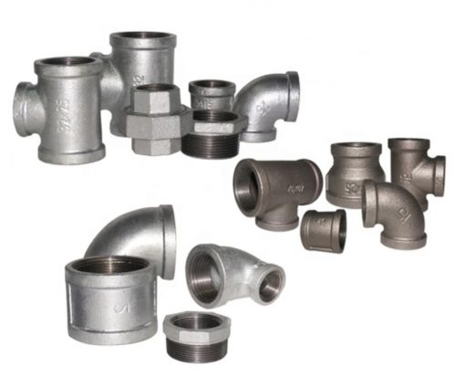 اتصالات گالوانیزه (Galvanized Fitting)و اتصالات سیاه در صنایع ای چون آبرسانی ، بخار ، هوا ، نفت و گاز و غیره مورد استفاده قرار می گیرد.