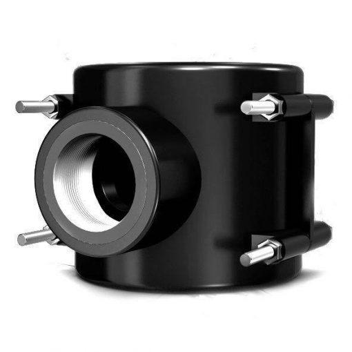 کمربند پلی اتیلن یکی از انواع اتصالات پلی اتیلن می باشد که جهت انشعاب گیری لوله های فرعی از لوله های اصلی و تعمیرات لوله ها مورد استفاده قرار میگیرند. این نوع کمربندها از دو قسمت اصلی کفه و انشعاب تشکیل یافته اند که میتواند جنس های متفاوتی داشته باشند. این نوع اتصال در انواع سایزهای مختلف از ۲۰ تا ۱۶۰ میلیمتر و برای فشارهای اتمسفری مختلف تا ۱۰ اتمسفر طراحی و تولید شده اند. کمربند پلی اتیلن با استفاه از پیچ مهره به دور لوله پلی اتیلن بسته می شود.
