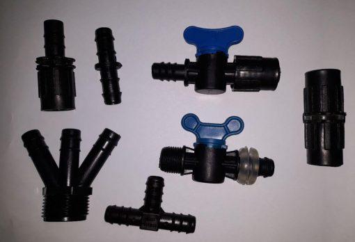 اتصالات آبیاری قطره ای پلی اتیلن