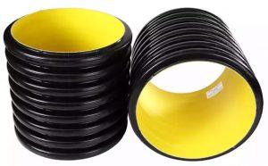 لوله کاروگیتیا لوله دوجداره پلی اتیلن به لوله هایی گفته میشوند که شامل دوجداره بیرونی با ظاهر موجدار یا حلقه حلقه و لایه داخلی صاف و صیقلی می باشند، لوله خرطومی فاضلابیکه برای انتقال سیالات اسیدی و بازی ، شبکه های جمع آوری فاضلاب ، شبکه های آبرسانی و پسابهای صنعتی بکار برده می شوند.  لایه درون لوله کاروگیت اغلب به رنگ آبی و یا زرد دیده می شود . بهنگام دیدئومتری درون لوله کاروگیت این رنگ ها به بازدید کننده کمک می کنند.