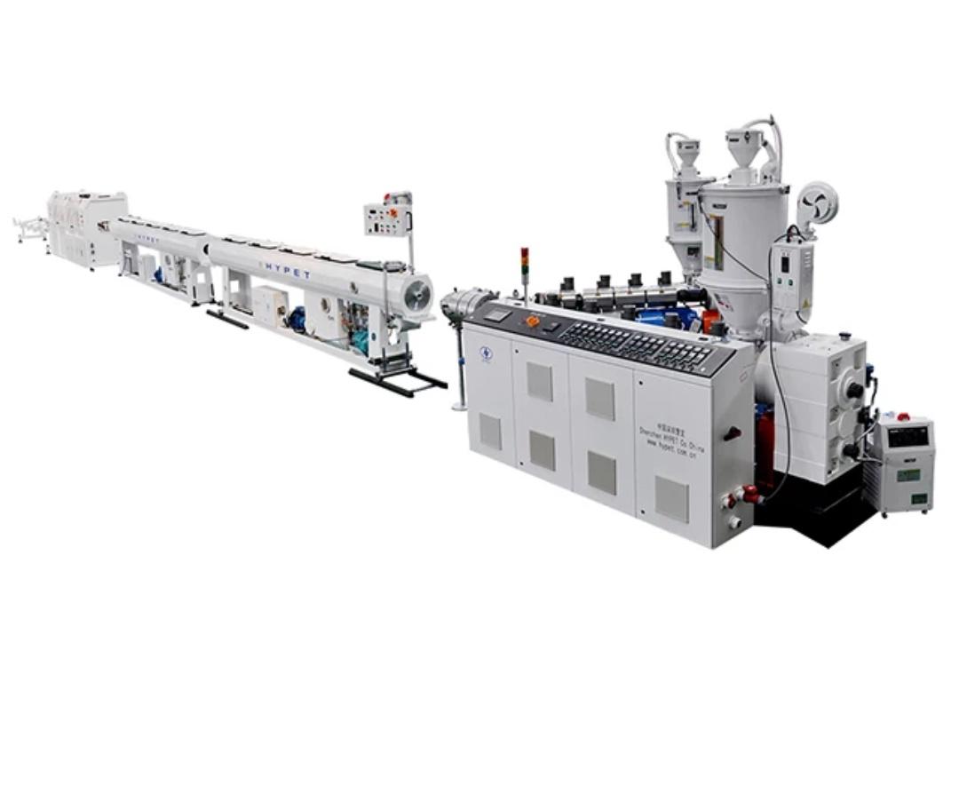 فرایند تولید با خط تولید لوله پلی اتیلن
