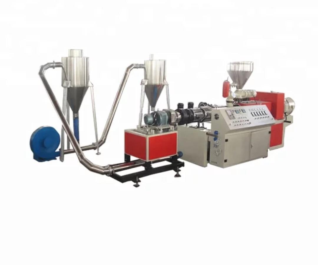 خط تولید گرانول پلی اتیلن راه اندازی بازیافت پلی اتیلن