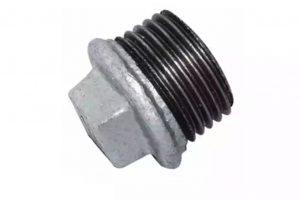 درپوش گالوانیزه قطعه ای از اتصالات گالوانیزه می باشد یک سر آن رزوه بوده و سر دیگر آن کور و آچار خور می باشد، و جهت کور کردن یا بستن انشعابات خط لوله کشی گالوانیزه مورد استفاده قرار می گیرد.  البته در اکثر موارد درپوش گالوانیزه از قسمت مورد نظر به راحتی باز شده و به جای آن شیرآلات و دیگر انشعابها بسته می شود.در بعضی مواقع نیز به عنوان کور کن انتهایی خط باقی می ماند.  این اتصال بسیار پر مصرف می باشد زیرا بعد از اتمام خط لوله کشی تمام خروجیها با درپوش گالولانیزه کور می شود تا بعد از اتمام عملیات ساختمانی با شیرآلات یا چیزهای دیگر جایگزین شود.