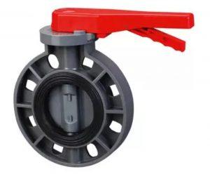 شیر پروانه پلیمری Butterfly valve ، یکی از مهم ترین و پرکاربرد ترین شیر آلات صنعتی است که با نام باترفلای ولو نیز شناخته می شود.  همان طور که از اسم این دسته از شیرها پیداست، شیر پروانه پلیمری از نوعی پلیمر به نام UPVC یا پلی پروپیلن ساخته می شود که انواع گوناگونی نیز دارد.این محصول از سایز 2 اینچ الی 8 اینچ تولید می شود.  شکل ظاهری خاصی که شیرهای ویفری پلیمریدارند منجر شده است تا در مقایسه با دیگر ولوهای صنعتی ویژگی های منحصر به فردی داشته باشند و با آن ها متفاوت باشند.