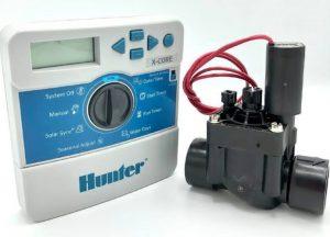 شیر برقی هانتر HUNTER مدل PGV و ICV با بدنه پلیمری مقاوم جهت قطع و وصل جریان آب در شبکه های آبیاری قطره ای
